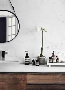 Salle De Bain Marbre Blanc : salle de bain salle de bain salle de bains marbre blanc salle de bain et salle de bain marbre ~ Nature-et-papiers.com Idées de Décoration