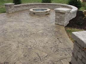 Stamped Concrete Cleveland Ohio Photo