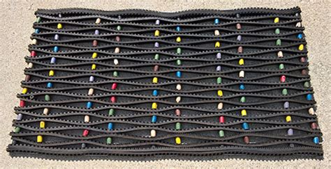 Doormats Made From Recycled Tires by Recycled Rubber Tire Link Mats