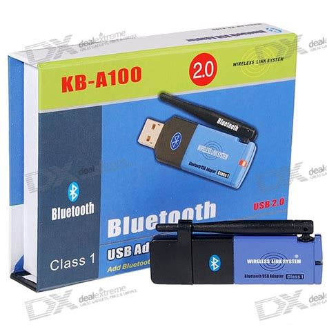usb 2 0 bluetooth 2 0 class 1 wireless adapter dongle 100 meters free shipping dealextreme