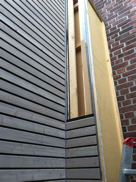 Aussen Balkon Nachträglich by Fassade Vorvergraut Holzfassade Wood Cladding In