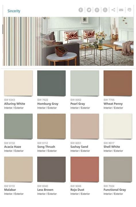 Home Interior Color Palettes by 2018 Paint Color Trends And Forecasts For The Home