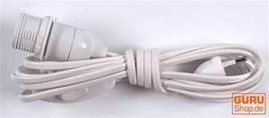 Wandlampen Mit Schalter Und Kabel : anschlusskabel steckerleitung zuleitung 4 m lampen kabel mit schalter und fassung einzeln ~ Eleganceandgraceweddings.com Haus und Dekorationen