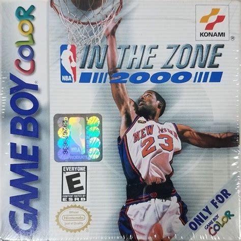 nba zone 2000 box gamefaqs gbc boy game