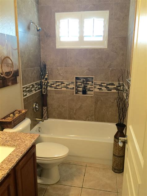 Tiling A Bathtub Area by Bathroom Remodel Tiled The Bathtub Shower Surround