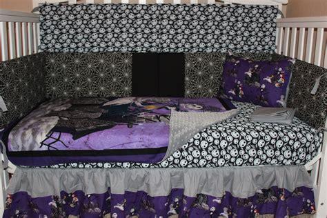 crib bedding set jack skellington nightmare before