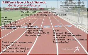 A Different Type Of Track Workout To Get You Stronger  U0026 Faster