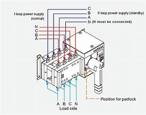 100 Amp Manual Transfer Switch Wiring Diagram