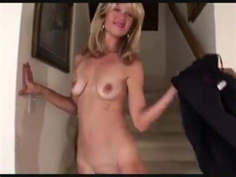 Blonde Milf Show Her Big Nipples And Tasty Pussy Free