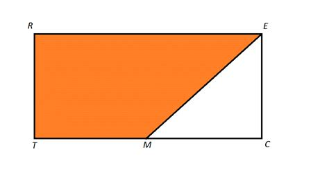 Diagram Of Trapezoid by How To Find The Area Of A Trapezoid Isee Middle Level Math