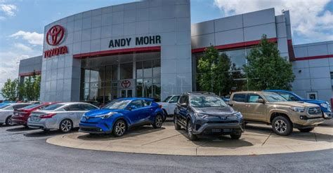toyota dealerships zionsville  andy mohr toyota
