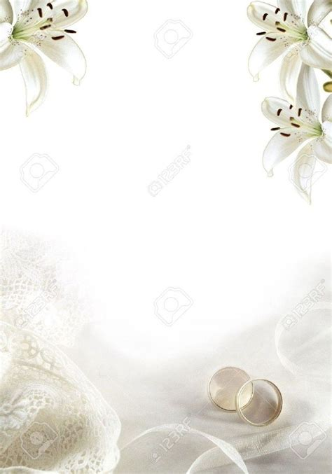32+ Marvelous Image of Blank Wedding Invitation Paper