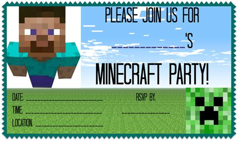 great ideas   minecraft birthday party minecraft
