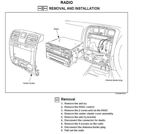 Wiring Diagram For Isuzu Dmax by Remove Factory Radio On Kb5