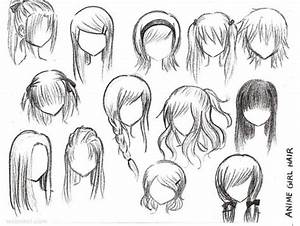 draw anime girl hair 21