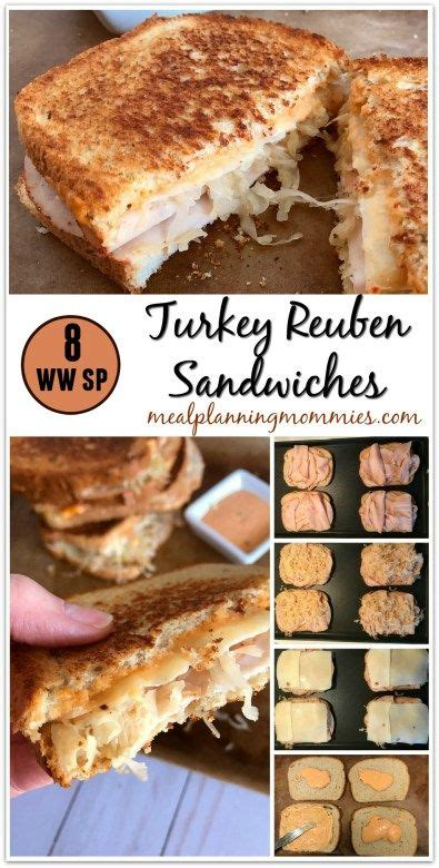 cuisine ww turkey reuben sandwiches recette ma cuisine
