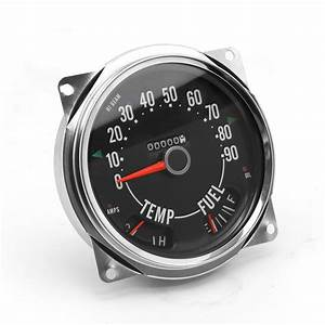 Speedometer Cluster Assembly  0 Cj6  Cj7