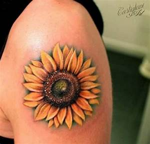 40 Fantastic Sunflower Tattoos That Will Inspire You To ...