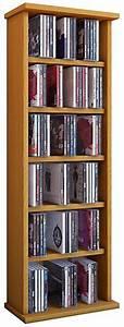 Cd Regal Buche : hama cd rack 60 buche archivierungssystem ~ Frokenaadalensverden.com Haus und Dekorationen