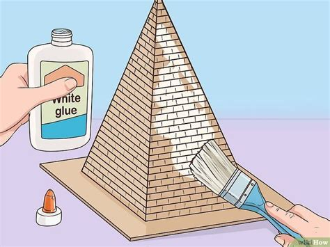 Build A Pyramid For School Pyramid School Project Egypt Crafts Pyramids