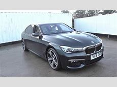 Used 2017 BMW 7 SERIES 730Ld M Sport 4dr Auto for sale in