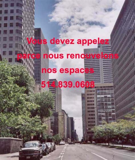 location bureau montreal quot location bureaux rene levesque 514 839 0608 quot