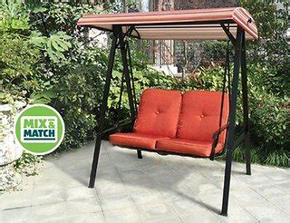 aldi us gardenline 2 person swing aldi us