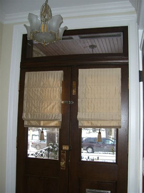Door Window Coverings by Custom Window Treatment