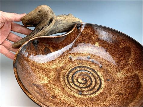 Read our coffee table buying guide and check out this list of the coolest. Large WAVE BOWL ceramic fruit bowl rustic centerpiece | Etsy in 2020 (With images)