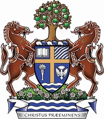 Arms Coat Crandall History University Faith Mission