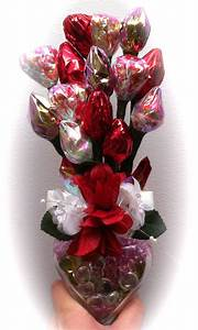 valentine candy bouquet | Candy Bouquet | Pinterest ...