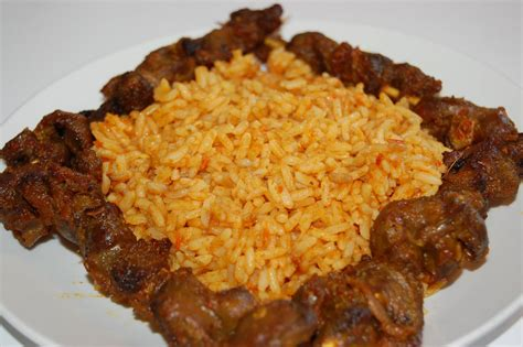 cuisine africaine poulet i me some jollof rice omonaij