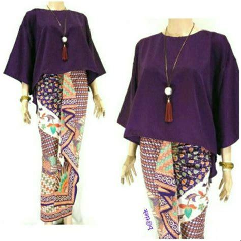 setelan baju batik wanita  celana baju tidur batik