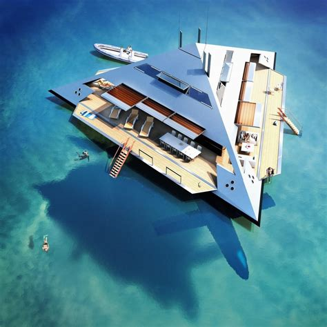 The Remarkable Flying Pyramid Superyacht: The Future of ...