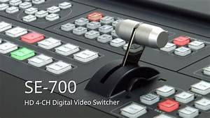 Datavideo Se-700 Hd 4 Ch Digital Video Switcher
