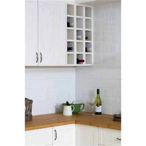 Kitchen Kaboodle Wine Racks by Kaboodle 150mm Olive Dip Wine Rack Bunnings Warehouse
