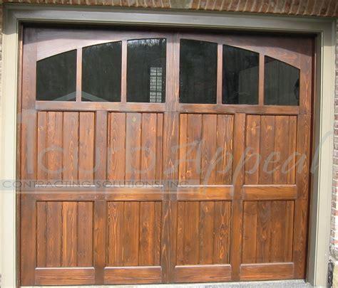 garage doors with windows custom carriage garage doors for atlanta ga
