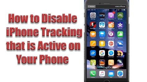 how to disable an iphone how to disable iphone tracking quot frequent locations quot