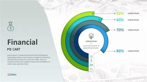 financial pie graphs templates  powerpoint templates
