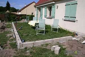 Maison Des Travaux : les travaux de la terrasse se poursuivent maison et ~ Melissatoandfro.com Idées de Décoration