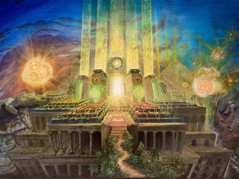 temple of light within us all is a pathway that leads to an inner secret