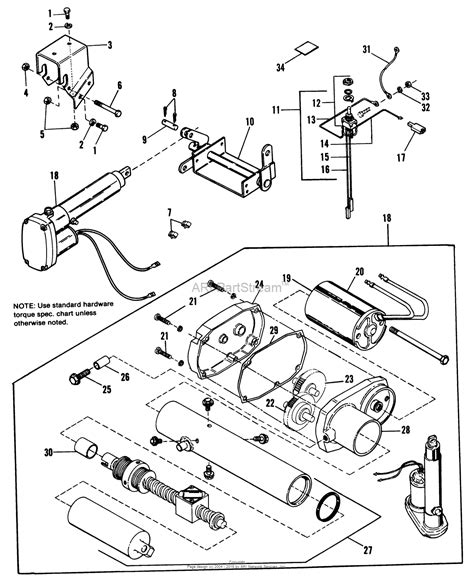 Simplicity Electric Lift Kit Parts Diagram For