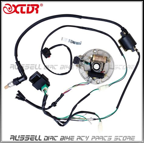 electrical wiring wire harness cdi coil magneto stator
