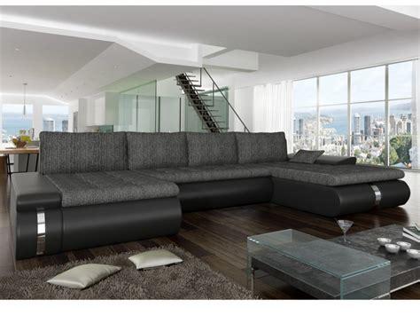 canapes originaux canapé d 39 angle panoramique convertible azelma en tissu et
