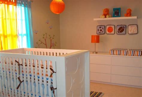chambre bébé orange déco chambre bébé conseils pratiques et photos inspirantes