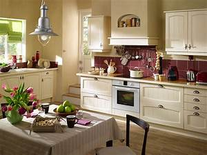 deco cuisine exemples d39amenagements With modele de deco cuisine