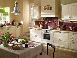 deco cuisine exemples d39amenagements With modele de deco pour cuisine