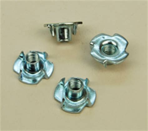 steel  nuts captive nuts