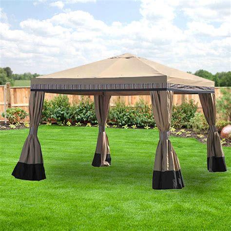 Walmart Patio Gazebo Canopy by Walmart Gazebo Replacement Gazebo Canopy Garden Winds