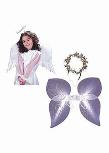 White Angel Girls Wings and Angel Women Wings and Halo Set ...